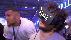 """n-tv Ratgeber: Tipps gegen """"Seekrankheit"""" bei Spielen mit VR-Brille"""