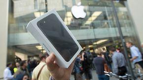 Verkaufsstart des  iPhone 7: Riesenschlangen vor Apple-Stores bleiben aus