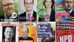 Landtagswahlen in der Hauptstadt: SPD und Grüne liebäugeln mit Rot-Rot-Grün