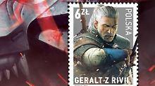 """Geralt, """"Held der Wirtschaft"""": Polen druckt """"The Witcher""""-Briefmarke"""