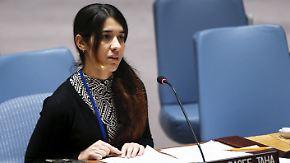 Kampf gegen Menschenhandel: Ehemalige IS-Sklavin wird UN-Botschafterin