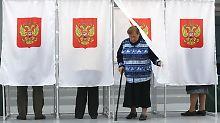 Rund 6500 Kandidaten sind bei der Wahl zum neuen russischen Parlament zugelassen.
