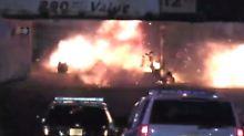 Sprengsatz an Bahnhof deponiert: Bombe detoniert in New Jersey
