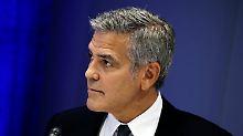 """""""Was ist passiert?"""": Clooney von Brangelina-Ende überrascht"""