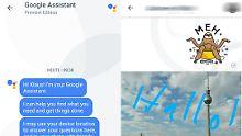 Google integriert Assistenten: Allo greift Whatsapp intelligent an