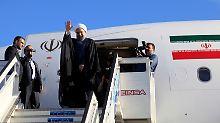 Der iranische Präsident Hassan Ruhani dürfte sich freuen. Die Flotte von Iran Air ist durch die Sanktionen des WEstens völlig marode.