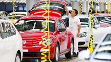 VW-Produktion im mexikanischen Puebla.