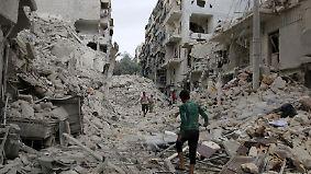 """Assad: """"Alles läuft nach Plan"""": UN berät über """"schlimmste humanitäre Katastrophe"""" in Aleppo"""