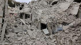 Kein Ende der Kämpfe in Sicht: Ost-Aleppo bis Ende des Jahres komplett zerstört?