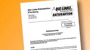 Skurriler Antrag in Flensburg: Linksfraktion will Genderneutralität - auch für Alltagsgegenstände