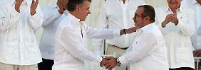 Historische Zeremonie in Kolumbien: Regierung und Farc unterzeichnen Friedensvertrag