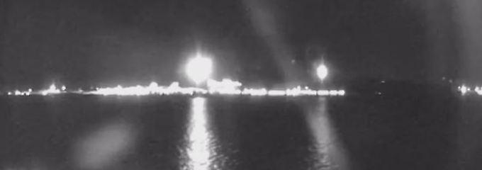 Helles Licht über Queensland: Stürzte ein Meteor ins Meer?