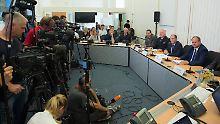 Schlamperei nach Anschlägen?: Dresdens Polizei ist im Krisenmodus