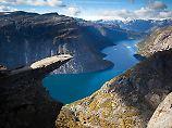 Mit Flipflops auf den Berg: Norwegen-Touristen sind oft leichtsinnig