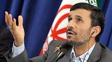 """Der """"gewisse Herr"""" Mahmud Ahmadinedschad ist aus dem Rennen."""