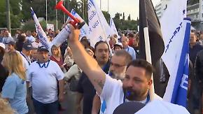 Staatsgüter sollen verkauft werden: Griechen wehren sich lautstark gegen neue Reformen