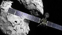 Beim Aufprall wird sich Rosetta komplett ausschalten - und kaputtgehen.