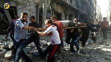 Vorwurf bewusster Kriegsverbrechen: Ban: Aleppo schlimmer als Schlachthof