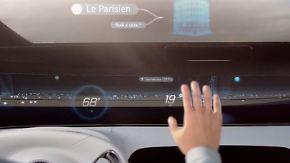 Unterwegs auf der Datenautobahn: So könnte das Auto der Zukunft aussehen