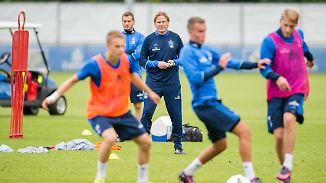 """Gisdol soll's gegen Hertha richten: """"Das dauert noch ein bisschen"""""""
