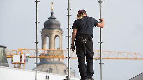 Zäune, Waffen, mehr Personal: Dresden rüstet sich für Tag der Deutschen Einheit