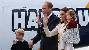Royale Charmeoffensive: George und Charlotte begeistern in Kanada