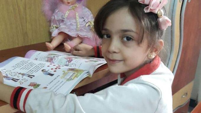Bana Alabed berührt die Welt mit ihren Tweets aus Aleppo.