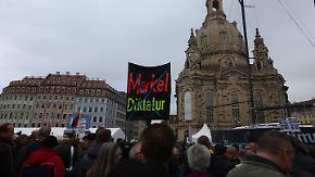 n-tv Netzreporter: Rechte Ausschreitungen in Dresden lösen Empörung aus