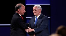 TV-Duell der Vize-Kandidaten: Pence zeigt Trump, wie man debattiert
