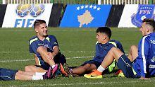Die kosovarischen Nationalkicker rechnen sich im WM-Qualifikationsspiel gegen Kroatien durchaus etwas aus.