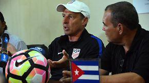 Historisches Fußballspiel: Klinsmanns US-Team freut sich auf Kuba