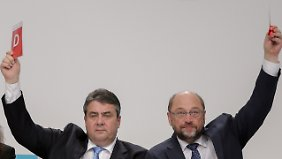 Gabriel, Schulz oder doch Steinmeier?: Kanzlerfrage quält die SPD