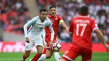 Souveränes Spiel: Torschütze Dele Alli greift gegen Malta an.