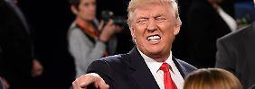 """Bill Clinton war viel schlimmer"": Trumps fieser Gegenangriff"