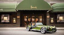 Harrods und Caterham verwandeln den Seven in ein automobiles Kleinod.
