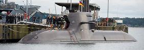 Marine stellt U36 in Dienst: Bundeswehr bekommt neue U-Boote