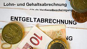 Durchschnittlich 70 Euro mehr: Arbeitnehmer dürfen sich über steigende Gehälter freuen