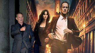 """Dan-Brown-Verfilmung """"Inferno"""": Tom Hanks mimt erneut der Menschheit letzte Hoffnung"""