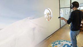 Virtuelles Abenteuer: Mit der VR-Brille den Mount Everest bezwingen