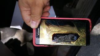 Deutlicher Gewinnrückgang: Note-7-Fiasko schlägt sich in Samsungs Bilanz nieder