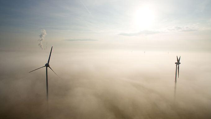 Das Netz kann den Windstrom nicht mehr transportieren - deswegen wird der Ausbau gekappt.