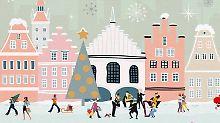 """Weihnachtslieder aus Deutschland: """"Ein Wintermärchen"""" klingt wie im Film"""
