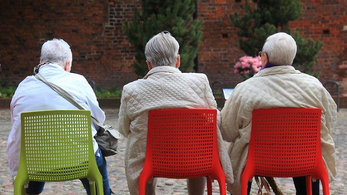 Bis 2035 wird der Anteil der Älteren über 60 Jahre von 27,5 Prozent auf 35 Prozent wachsen.