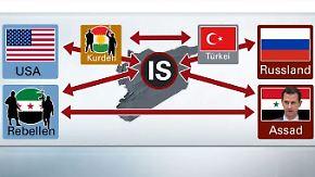 Assad-Regime, Rebellen, IS, ...: Wer kämpft in Syrien gegen wen?