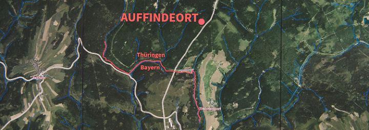 Der Fundort liegt nur 15 Kilometer von Peggys Heimat Lichtenberg entfernt.