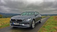 Der neue V90 ist mit 4,94 Metern nicht nur der längste Kombi der Volvo-Historie, er hat auch sonst einiges zu bieten.