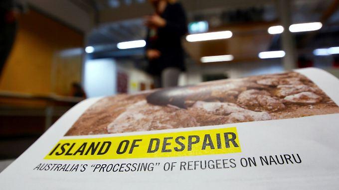 """""""Insel der Verzweiflung"""" hat Amnesty International den Untersuchungsbericht genannt."""