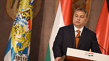 """""""Wir schützen die Freiheit"""": Orban verteidigt die Grenzschließung"""