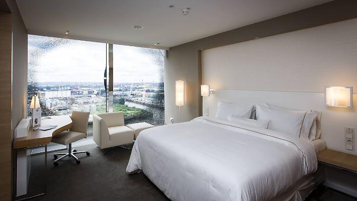 Die Preise für Hotelzimmer in Deutschland sind 2016 gestiegen.