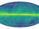 Winzige Wolken, leuchtendes Band: Besondere Karte zeigt Details der Milchstraße